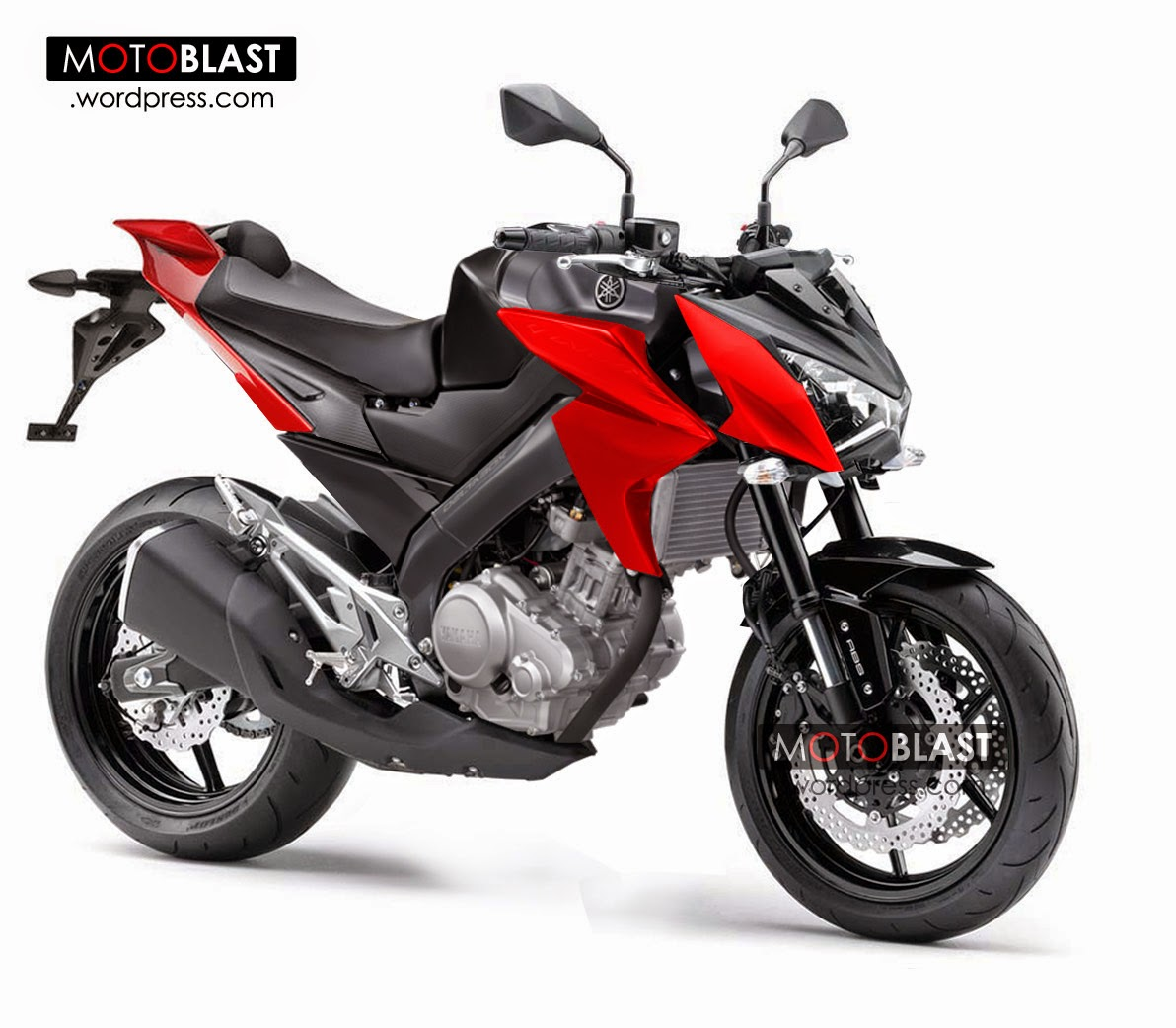 Modifikasi New V Ixion Street Fighter