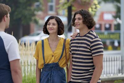 Maggie &  Ash Hartman in Hallmark's Love Strikes Twice