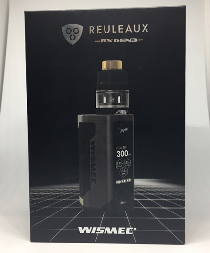 thumb7 - 【Wismec】Reuleaux RX GEN3 with GNOME レビュー。最大出力300wの小型軽量モンスターMOD!!