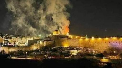 كل بقعة محتلة هي ...القدس