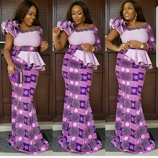 INVENTIVE AND TRENDY MOST RECENT ANKARA OUTFITS FOR WOMEN_ANKARA LONG OUTFITS DESIGNS 1