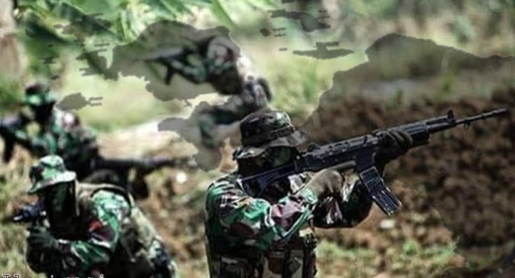 1 KSB Tewas, Kontak Tembak TNI Dengan KSB Di Hitadipa