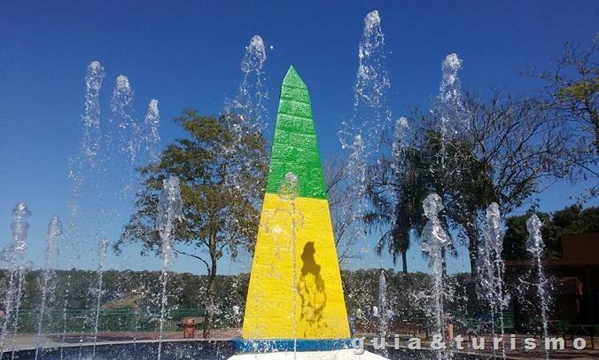 Marco da três fronteira, Foz do Iguaçu