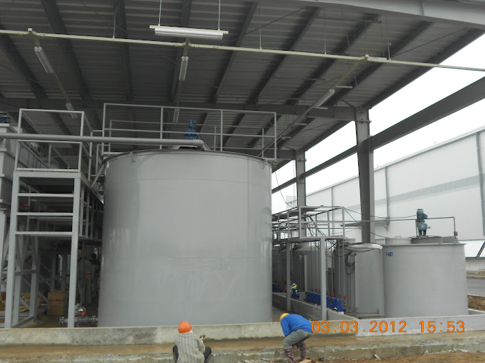 Bồn composite chứa hóa chất cỡ lớn
