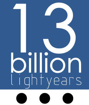 13 billion lightyears...