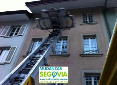 Transportes Condado de Castilnovo Segovia