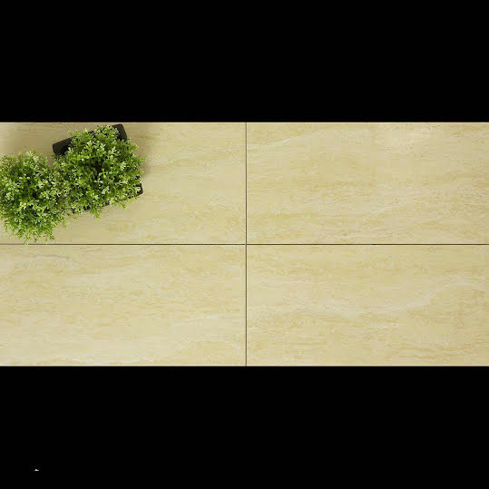 Klinker Travertine Blank Rak Kant 30x60