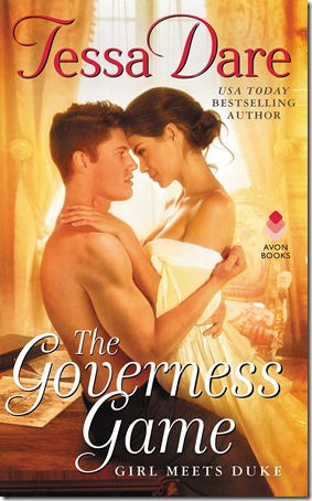 Review: The Governess Game (Girl Meets Duke #2) by Tessa Dare | About That Story