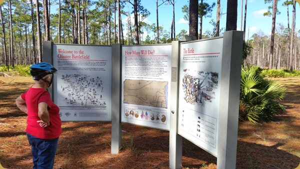 Peg at Olustee Battlefield