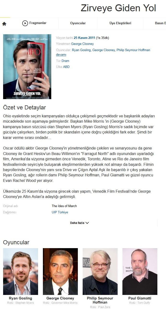 Zirveye Giden Yol 2011 - BRRip XviD - Türkçe Dublaj Tek Link indir