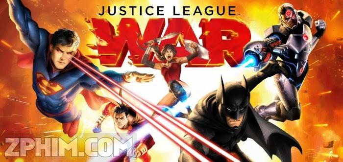 Ảnh trong phim Liên Minh Công Lý: Chiến Tranh - Justice League: War 1