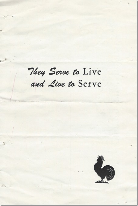 They Serve to Live Cover