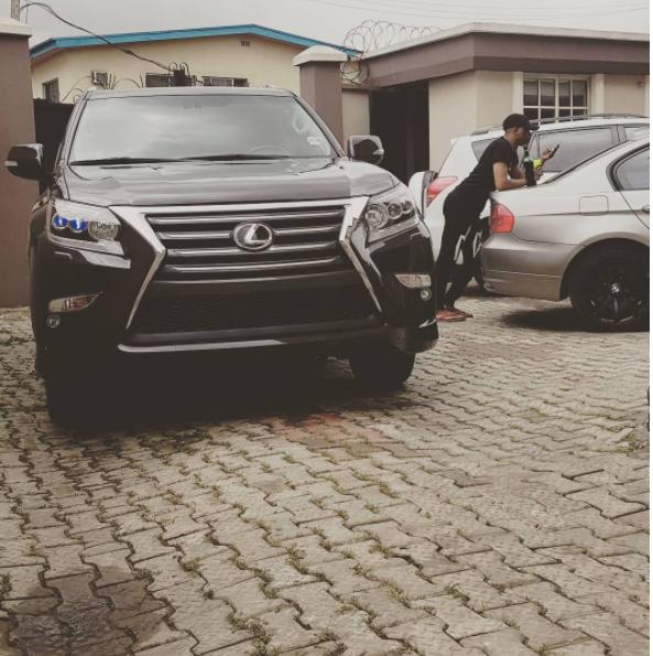 Rapper Reminisce Acquires 2017 Lexus (Photo)