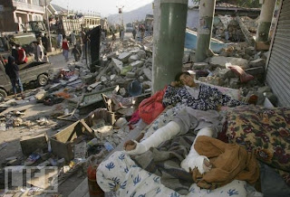 earthquake come in Pakistan