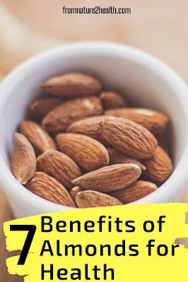 Almond for Antioxidants, Almond for Treat Cholesterol, Almond for Treat Diabetes, Almond for control blood pressure, almond vitamin e, Almond for Diet
