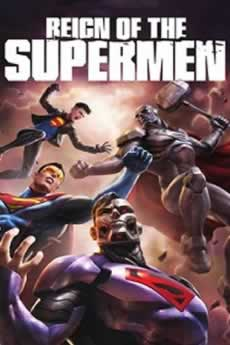 Capa Reino do Superman Dublado 2019 Torrent