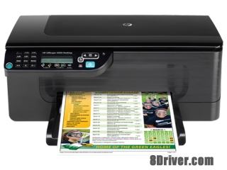 Free download HP Officejet 4500 Desktop G510a Printer driver & install