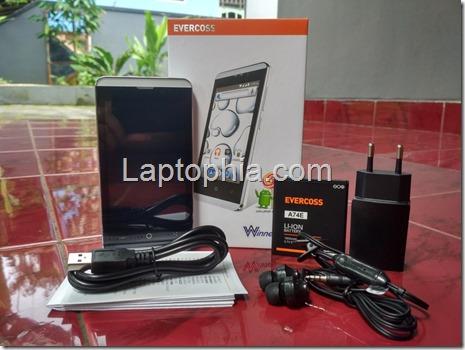 Paket Pembelian Evercoss Winner T+ Compo