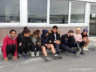 L'équipe minimes aux championnats de ligue minimes..