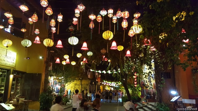 Hoi An is famous for its hand-made lanterns, which adorn all the main streets in the Ancient Town.