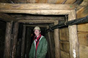 Douglas in a mine