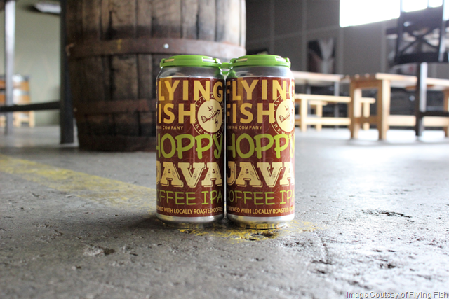 Flying Fish Hoppy Java Coffee IPA Cans Coming 4/6