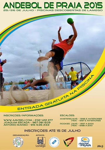 Andebol de Praia - Lamego - 25 e 26 de Julho - 2015