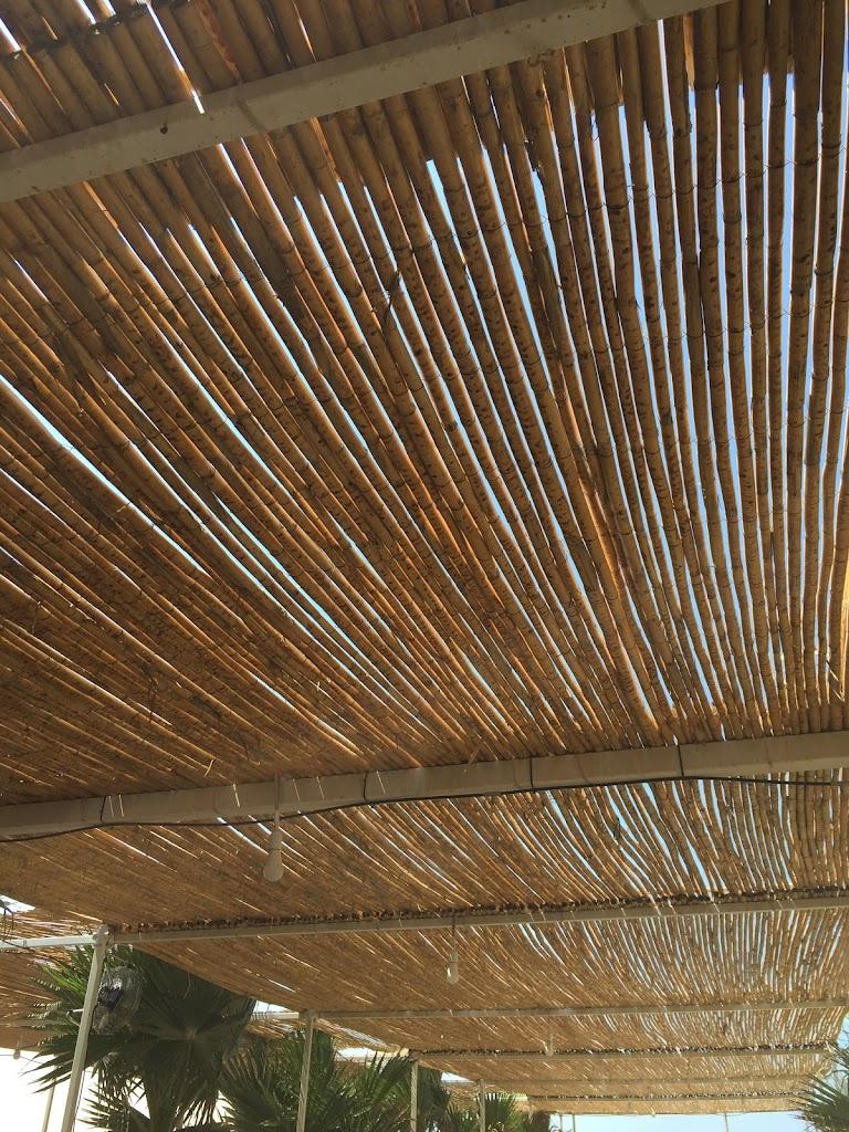 Home for Pergolato con canne di bambu