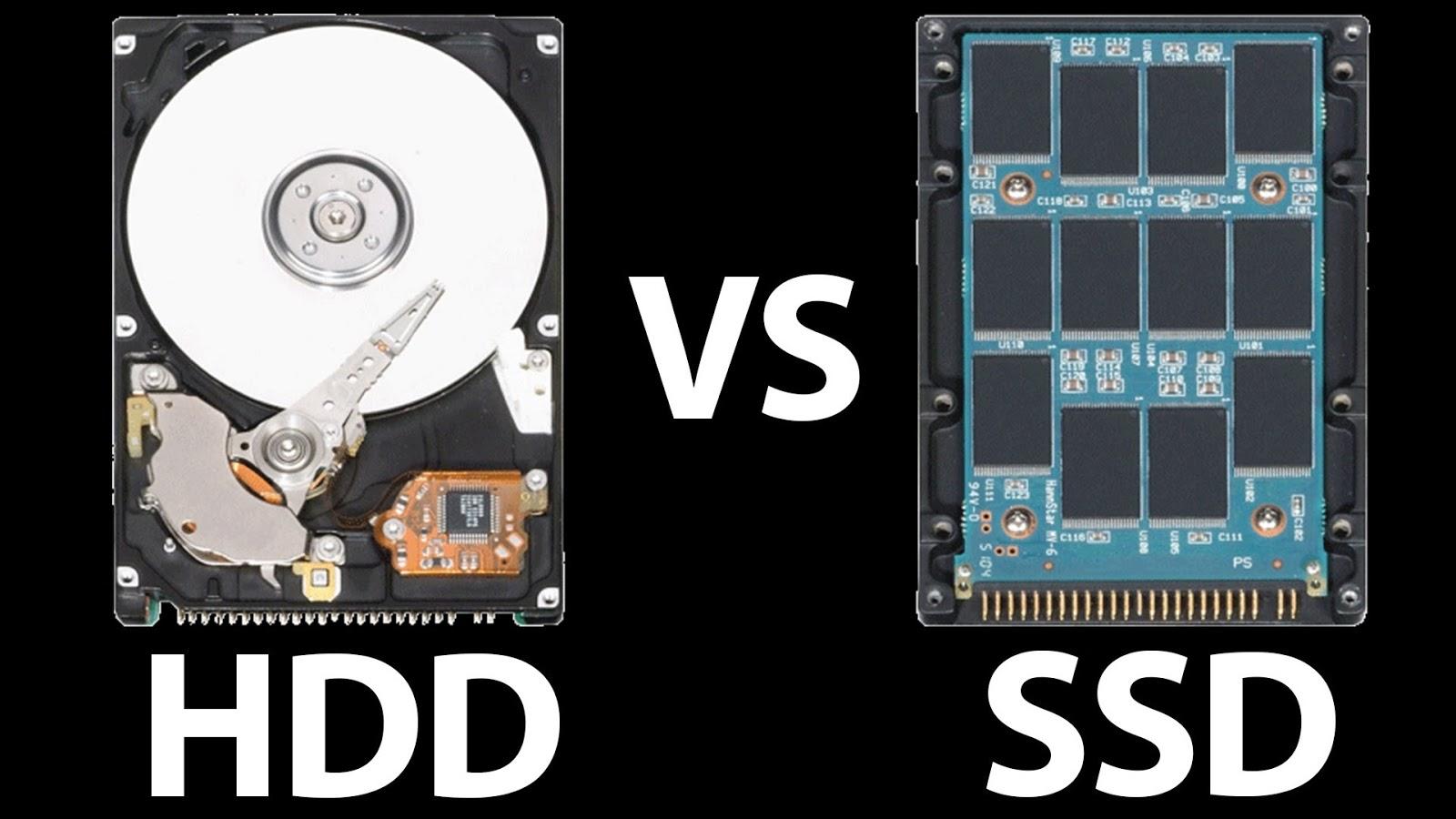 HDD dengan SSD