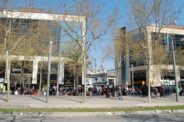 ugt carrefour vaga general 29 m concentraci centre comercial les gl ries barcelona 2012 03 29. Black Bedroom Furniture Sets. Home Design Ideas
