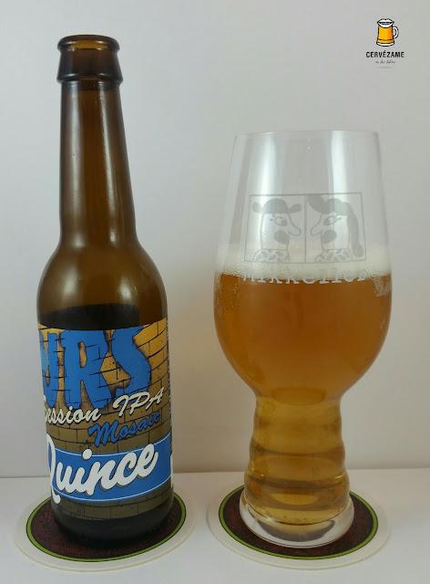 cerveza La Quince 15 Hours Session IPA Mosaic cervezame