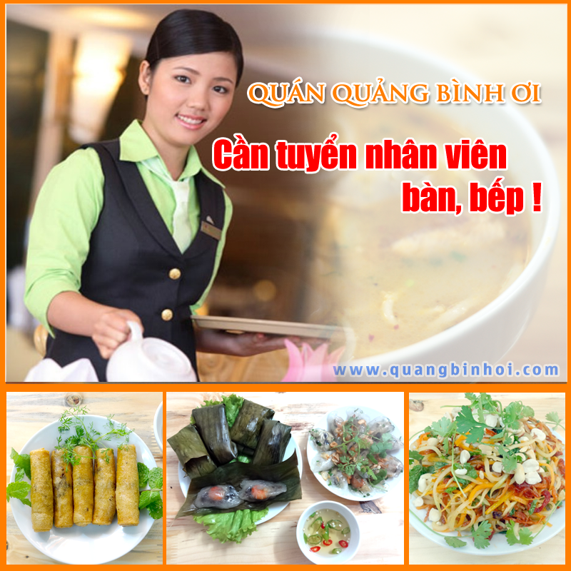 Quảng Bình Ơi tuyển nhân viên tháng 5
