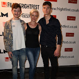 OIC - ENTSIMAGES.COM - Rory Coltart, Ruth Platt and Evan Bendall at the Film4 Frightfest on Monday   of  The Lesson  UK Film Premiere at the Vue West End in London on the 31st  August 2015. Photo Mobis Photos/OIC 0203 174 1069