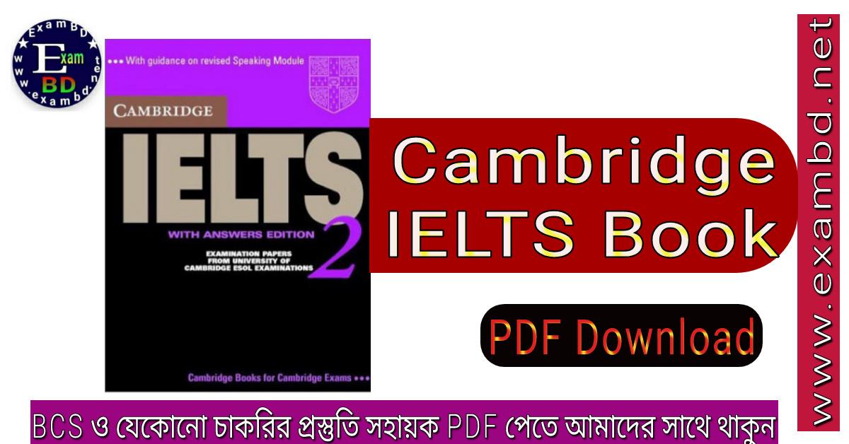Cambridge IELTS Book - PDF Download