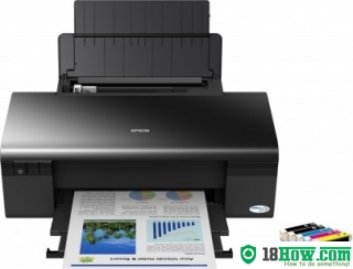 How to Reset Epson D120 printing device – Reset flashing lights error
