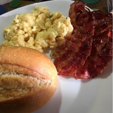 Rühreier mit Bacon