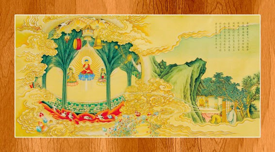Bộ ảnh đẹp minh họa bản Kinh A Di Đà 16