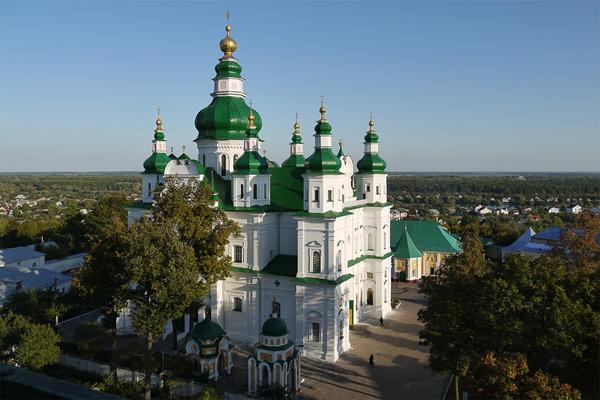Чернигов Елецкий монастырь