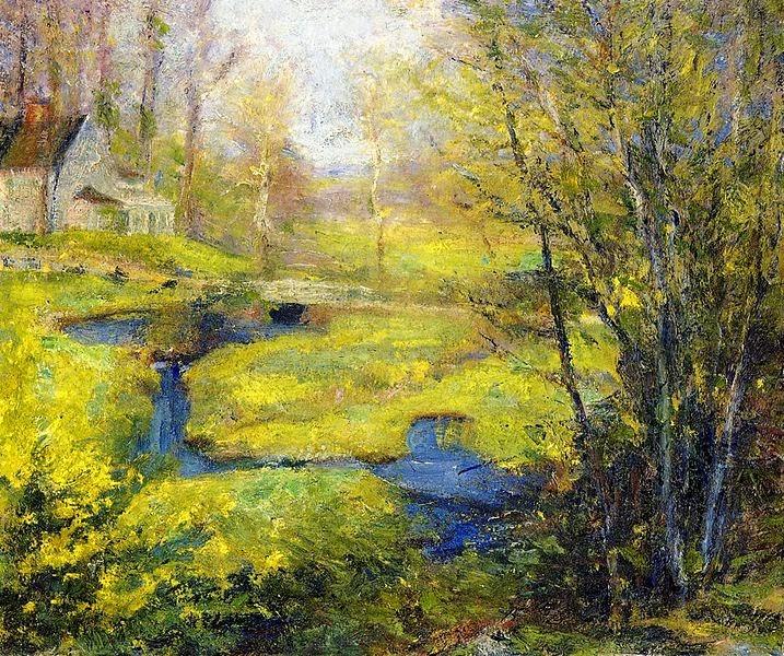 Robert Vonnoh - Springtime