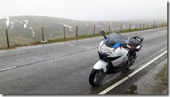 K1300S on Saddleworth Moor