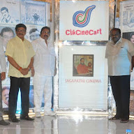 Click Cine Cart Launchig Jagapathi Babu New Company Pics