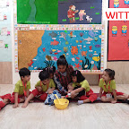 Cooking Experience - Roohafza Making By Nursery Section at Witty World, Bangur Nagar (2017-18)