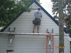 Up Goes the Siding