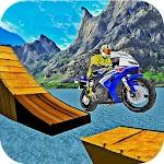 Bike Stunt Racing Adventure:motorbike racing games Icon