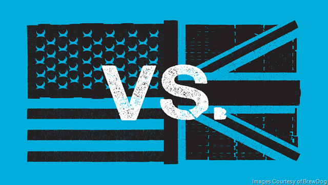 BrewDog Launches US vs UK 4th Of July Showdown