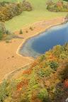 CONCOURS DE PEINTURE?Vue d'automne depuis le bélevédère des 4 lacs