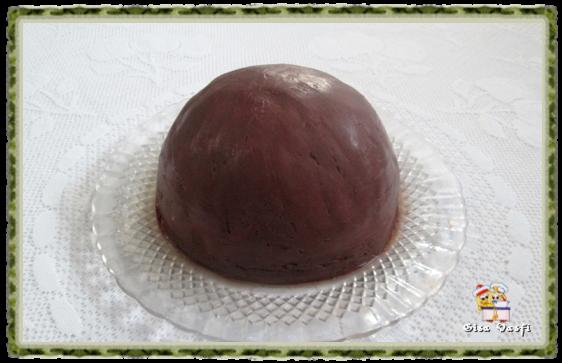 Zucotto de creme de avelãs 1