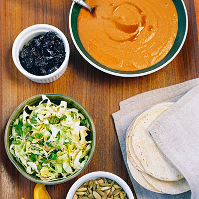 Photo: Pumpkin tacos are easy appetizers to prepare