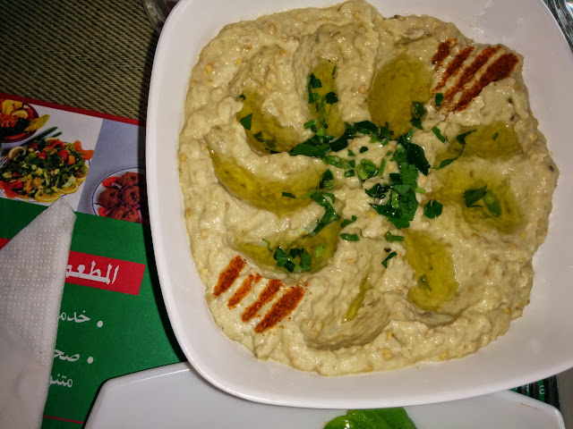 Hummus - the famous chick peas paste