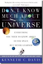 dont know much about the universe
